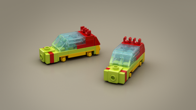 Microscale LEGO Jurassic Park Has All The Highlights