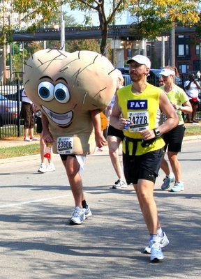 You Should See The Portion Of The Costume That Fell Off During Mile 3