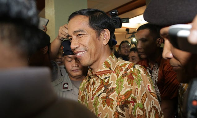 Governor of Jakarta Elected President of Indonesia