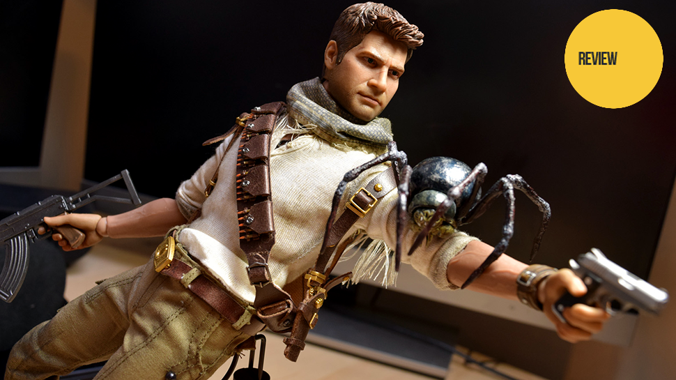 12-Inch Nathan Drake Figure Is... Argh! Spider!