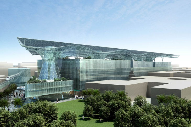 Masdar HQ: World's First Positive Energy Building