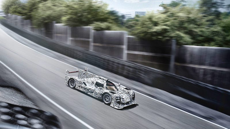 See Even More Of The Car Porsche Will Use To Dominate Le Mans