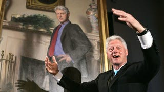 There's a Monica Lewinsky Reference in Bill Clinton's Official Portrait