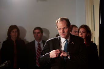 Eliot Spitzer Had Sex with Three Hookers in One Day