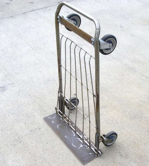 Make a Hand Truck Out of a Shopping Cart