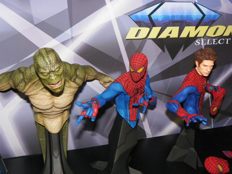See Watchmen, The Dark Knight Rises, The Amazing Spider-Man and The Avengers in All Their Toy Fair 2012 Glory