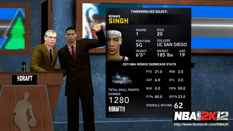 Rookies Won't Appear in NBA 2K12 Until the Lockout is Over