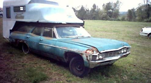 1967 Chevy Impala With ToteMotel Camper For Sale, Seller Doesn't See What's So Damn Funny