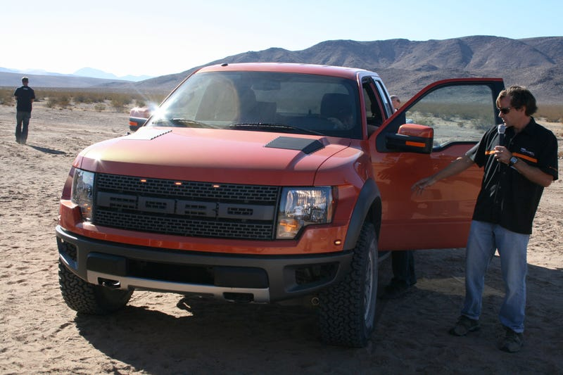 2010 Ford F-150 SVT Raptor Takes To The Air