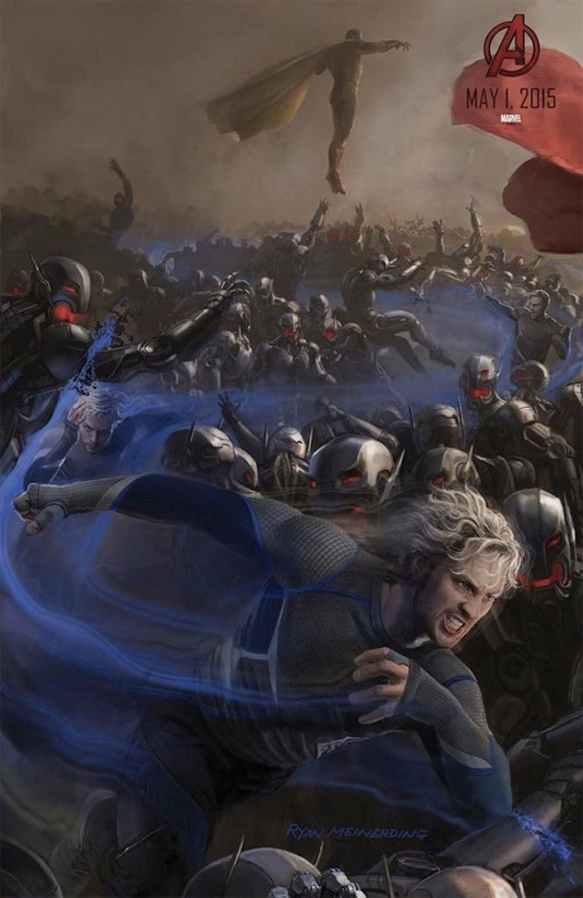 Here's The First (Tiny) Look At The Vision In Avengers: Age Of Ultron