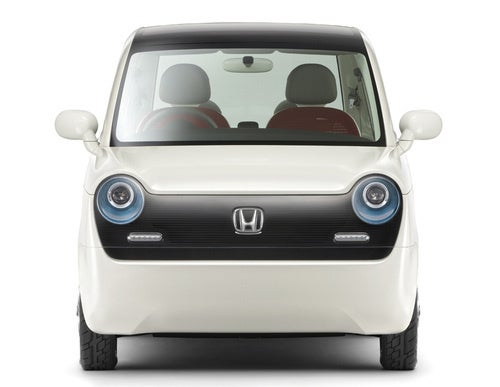 Honda EV-N Concept: Press Photos