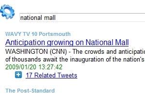TweetNews Ranks News Stories by Twitter Links