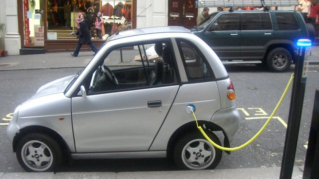 Nine Year Old Steals Electric Car At (Toy) Gunpoint