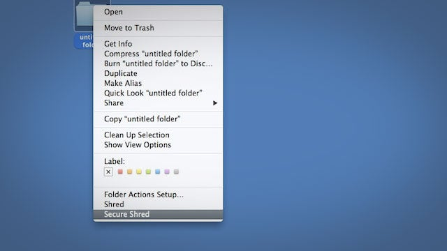 FileShredder Securely Deletes Files from Your Mac