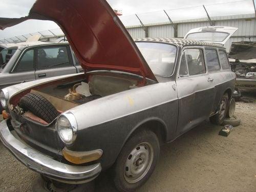 1971 Volkswagen Squareback Down On The Junkyard