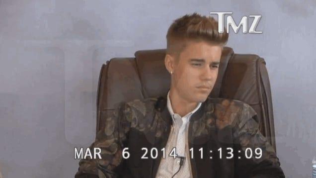 Justin Bieber's Deposition Video Proves He's World's Funniest Asshole