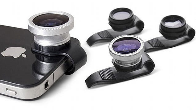 With These Classy Clip-On Lenses, You Can Call Your Nude Pics Art