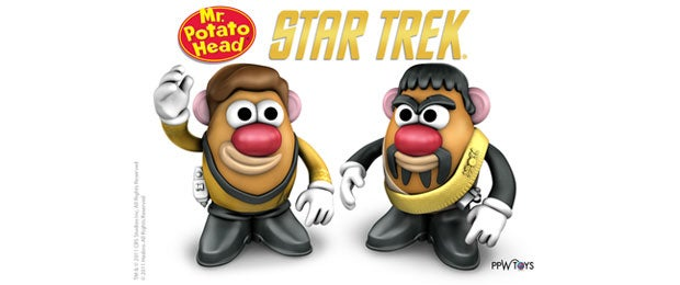 Star Trek Potato Head dolls boldly go where no merchandising deal has gone before