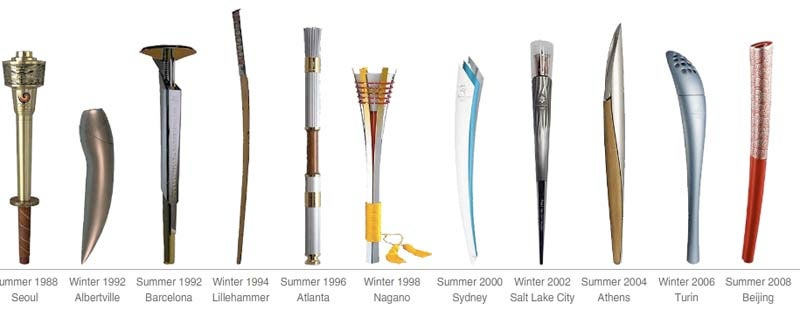The Olympic Torch Transformed Over History