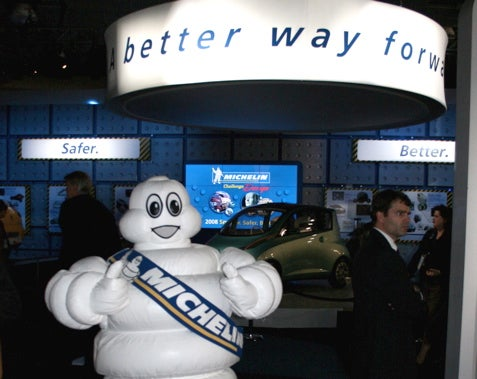 Detroit Auto Show: Wee Rides that Puff Themselves Up