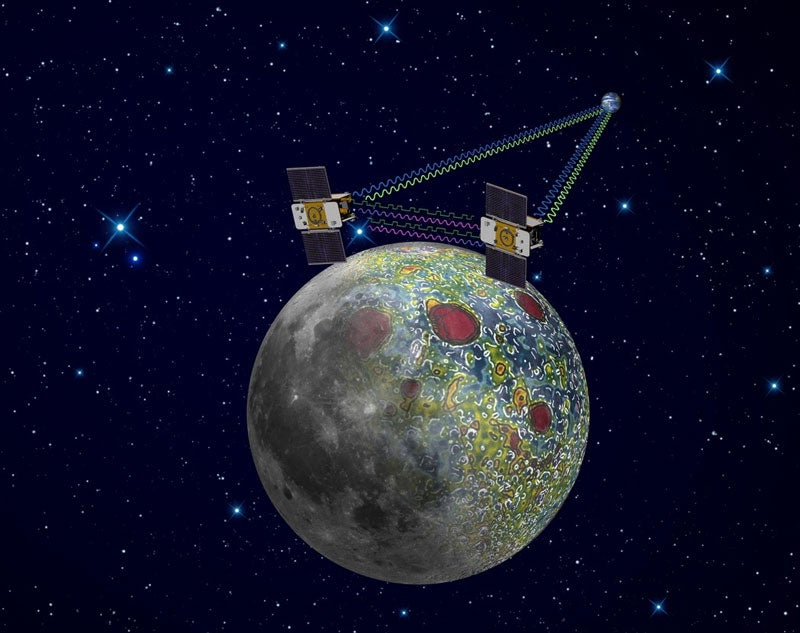 Twin NASA Probes Start Mapping Lunar Gravity