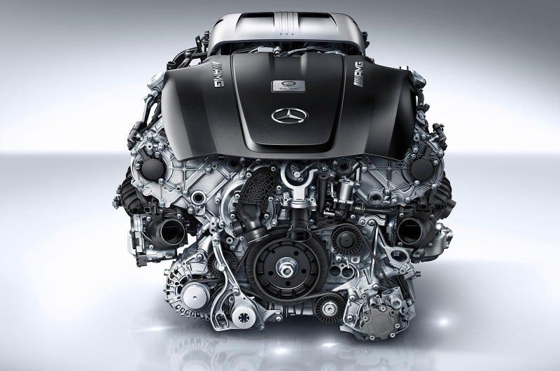 This Is AMG's 510 Horsepower Stunning 4.0-Liter Turbo V8 Ear-Melter