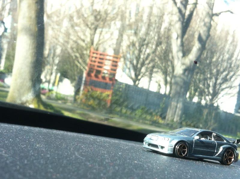 Chasing Die-Cast Cars
