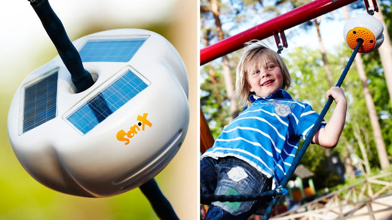 Solar Powered Sound Device Turns Even Swinging Into a Competition