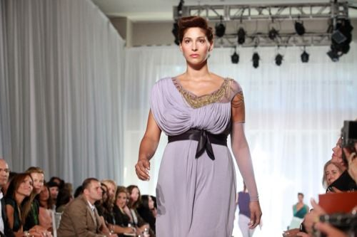 Images From The Only Plus-Size Show At Fashion Week
