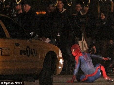 Amazing Spider-Man Set Photos