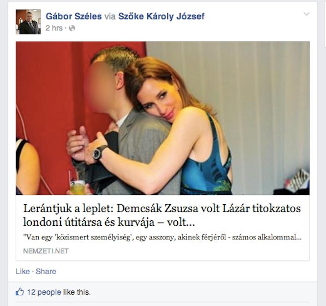 A fideszes milliárdos kiposztolta, szerinte kivel utazgatott Lázár