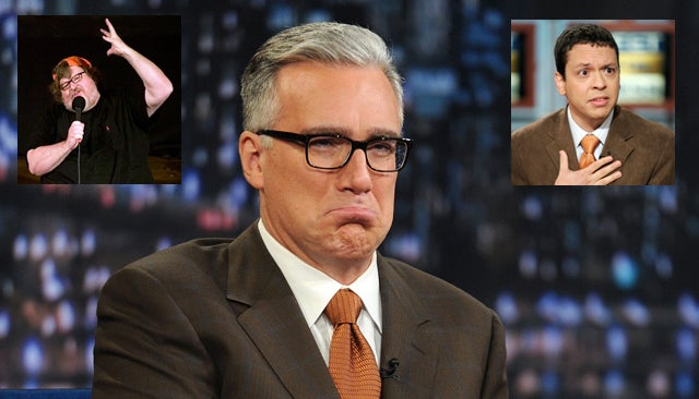 You'll Never Guess Who Keith Olbermann's First Guests Are