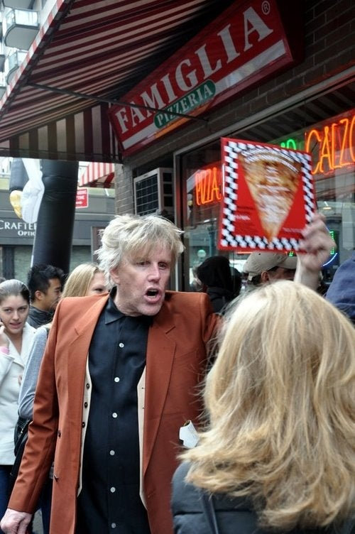 Gary Busey Yells at Pedestrians for Celebrity Apprentice