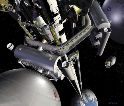 Carbon nanotubes will lift us to space