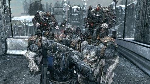 Gears of War 2 – Horde Mode Is The Way To Go