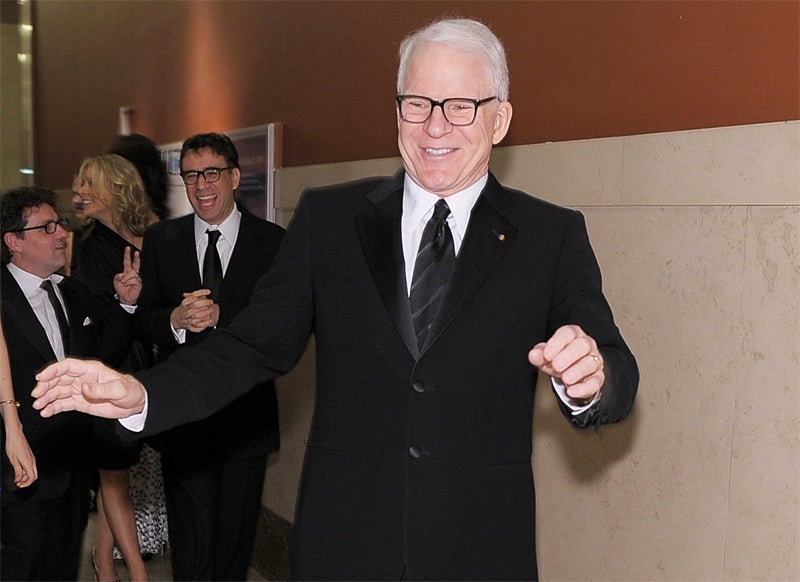 Steve Martin Better Hope He's Not Arrested for Live Tweeting Jury Duty