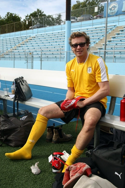 Simon Baker: The Red Shoe Cleat Diaries