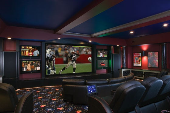 What does your home theater setup look like Design your own tv room