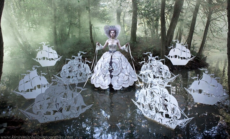 Amazing Fairy-Tale Artwork to Commemorate a Mother Lost to Cancer