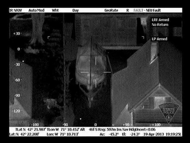 Massachusetts Police Release Thermal Images Of Tsarnaev In Boat