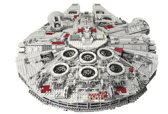 The Biggest Lego Set Ever Made - Star Wars Millennium Falcon - Does Point Five Past Lightspeed
