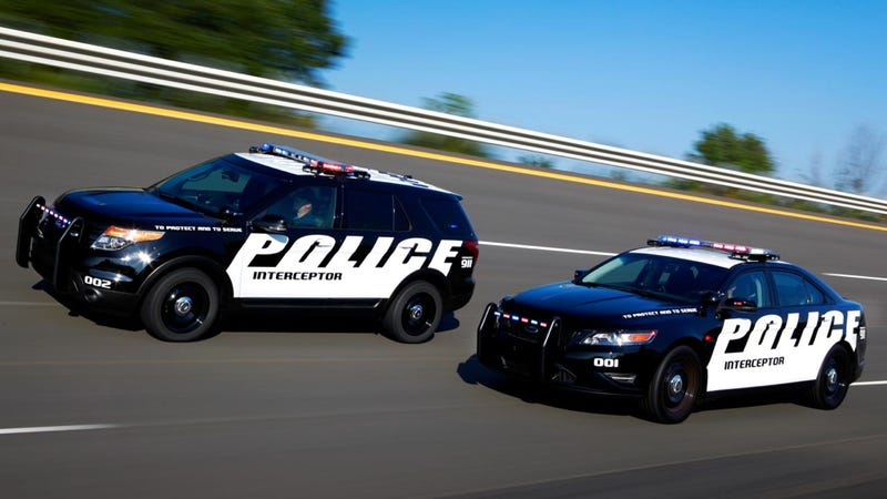 Get Used To The Ford Taurus And Explorer Cop Cars Because They're Selling Like Hot Cakes