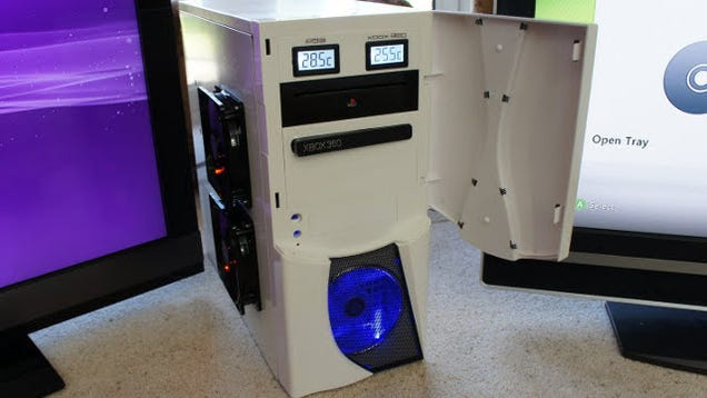 Combine a PS3 and an Xbox 360 in One Computer Case for the ...