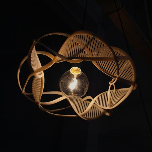 The Ribbons Of Life Lamp Draws Inspiration From The Source