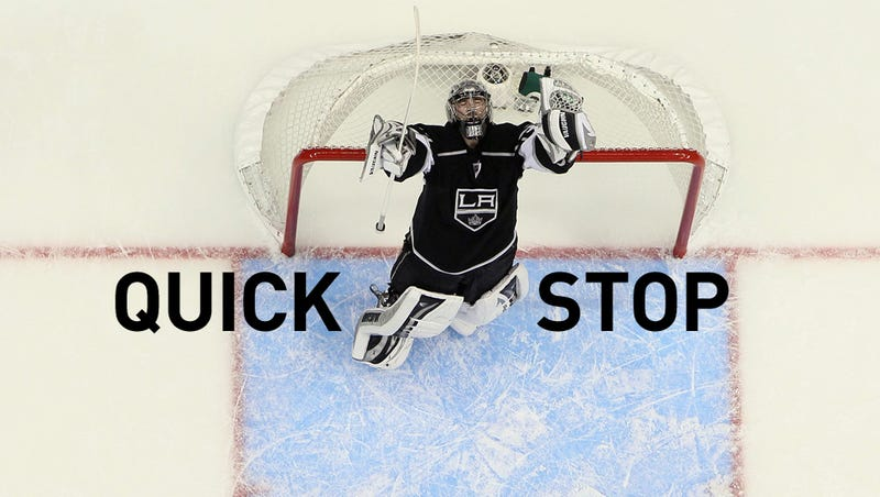 With A Little Luck And A Gigantic Glove Save, The Kings Carry On