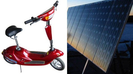 Solar-Powered Scooter: Solarin Turtle