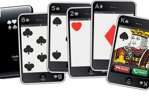 iPhone Playing Cards See Your Fanboyism, Raise You $25
