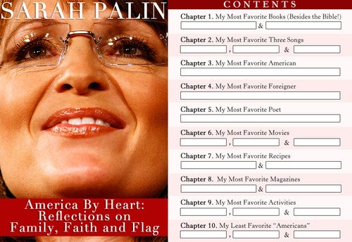 What Is Sarah Palin's New Book About?