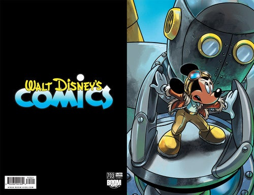 Mickey Mouse Vs. Science Fiction