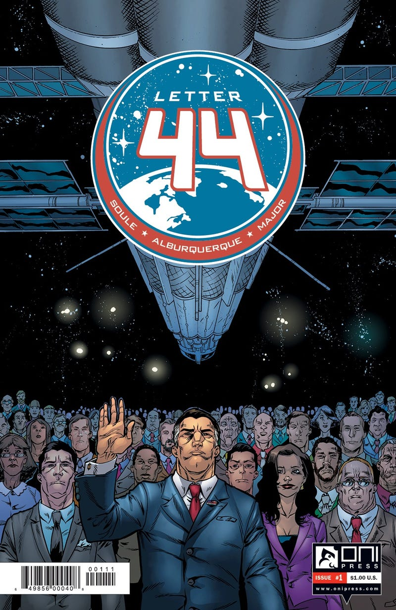 Read the first issue of Letter 44, the comic everyone's raving about